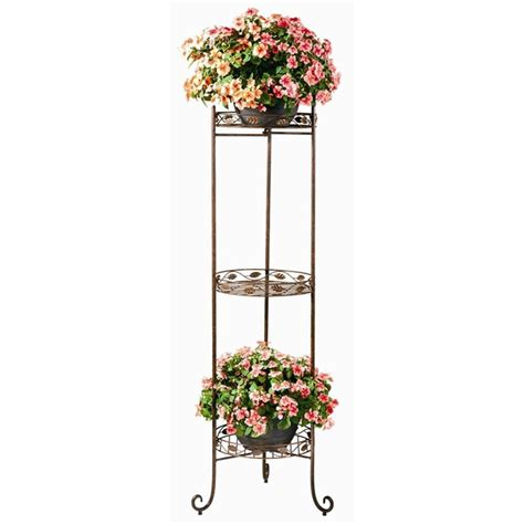 Metal Plant Rack by Show Your Plants With These Great Plant Stand Ideas