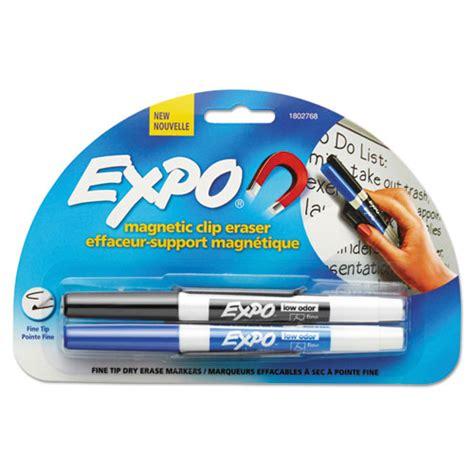 Digit Eraser St san1802768 expo magnetic clip eraser w 2 markers zuma