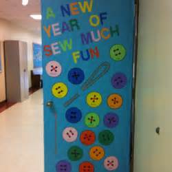 new year decorations door a new year is sew much library bulletin boards