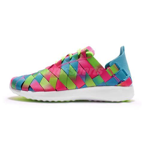 multi colored nike shoes wmns nike juvenate woven prm premium multi color womens
