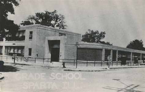 Randolph County Il Court Records Grade School Sparta Illinois 1958 Randolph Illinois Genweb