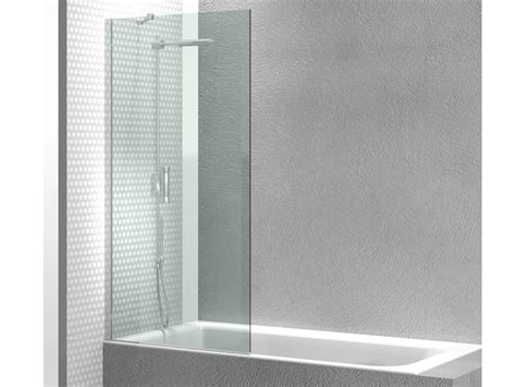 bathtub panel tempered glass bathtub wall panel linea fb by vismaravetro