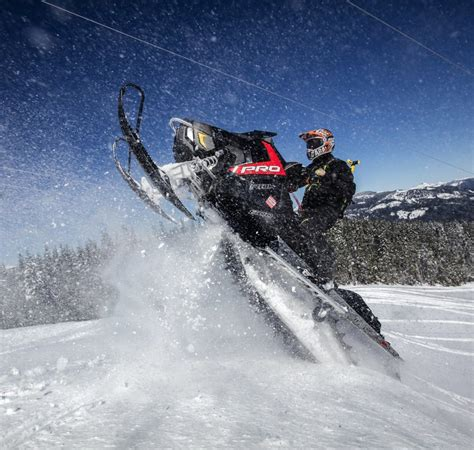 Berm Homes Near Snoqualmie Pass Jumping On A Snowmobile To Confront