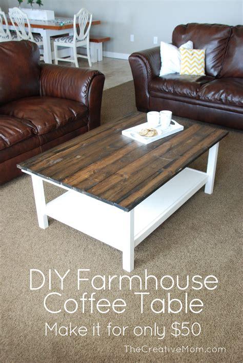 diy coffee table diy farmhouse coffee table