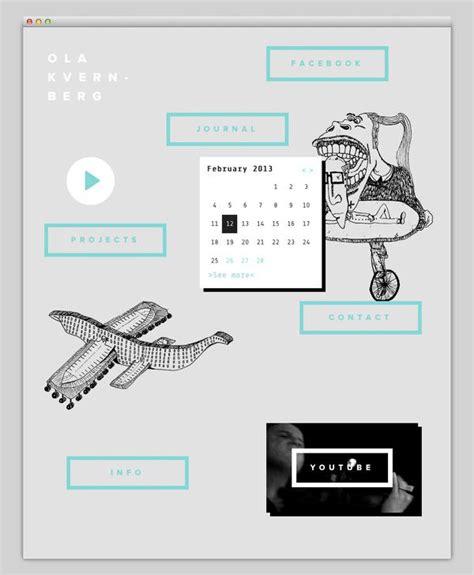designspiration layout the web aesthetic ola kvernberg designspiration