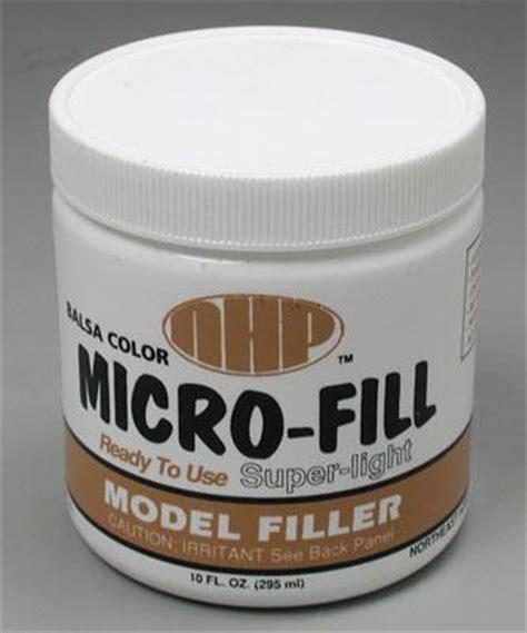 Wood Filler Dempul Kayu Maxi balsa color micro fill 10oz nhp211 northeast hobby hobby and craft wood filler