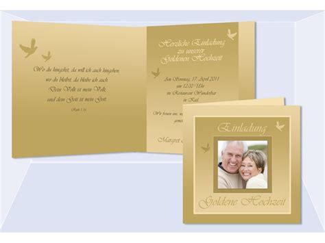 Einladungskarte Goldene Hochzeit by Hochzeitskarte Hochzeitseinladung Einladung Goldene