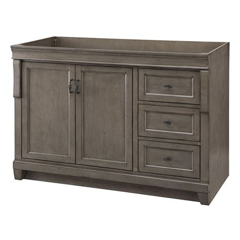 home decorators collection naples 48 in w vanity cabinet