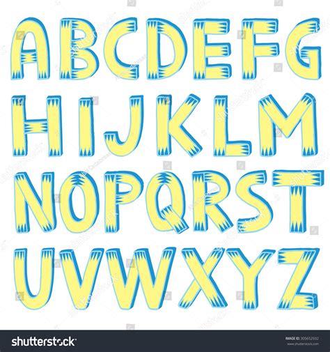5 Letter Words L E A R Y alphabet letters a b c d stock vector 305652932