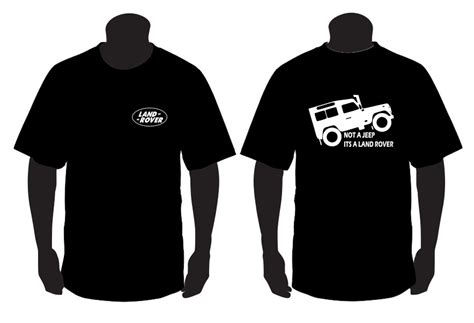 Tshirt Fiat 127 Bdc t shirt para not a jeep is a land rover