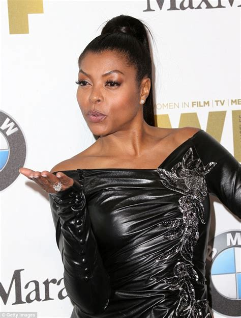 45 year omd women dress up taraji p henson dazzles in skintight rouched dress at