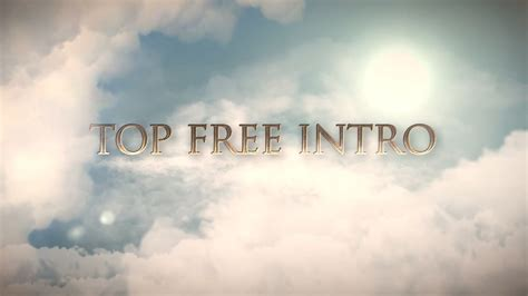 Free Cs6 After Effects Intro Template No Plugins Topfreeintro Com After Effects Intro Templates Free Cc