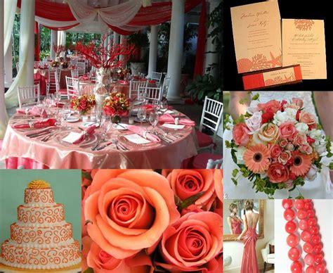 color inspiration coral elizabeth designs the wedding