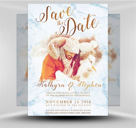 Save The Date Flyer Template 3 Flyerheroes Save The Date Flyer Template