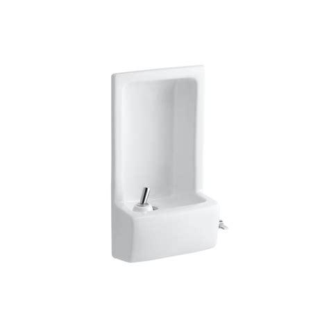 Glenbrook Plumbing by Kohler Glenbrook Lever Faucet In White K