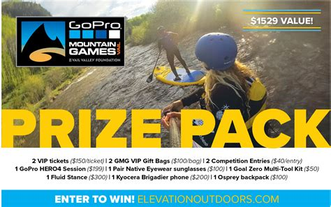 Gopro Giveaway 2016 - gopro mountain games giveaway elevation outdoors magazine