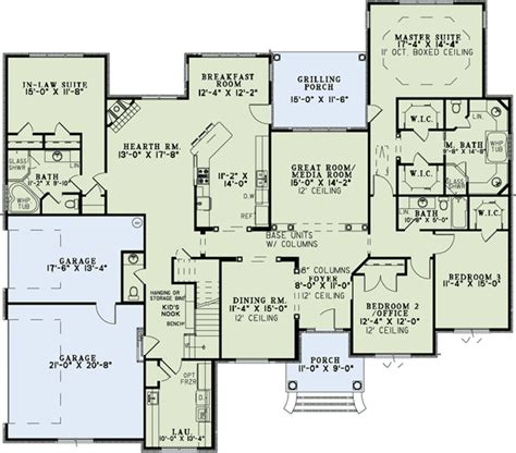 Houses With Mother In Law Suites by And Room To Expand 60575nd 1st Floor Master Suite Cad