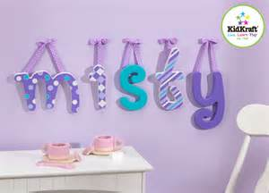 kidkraft dreamy wooden letters room decor