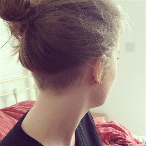 shaved nape styles 30 best undercut images on pinterest nape undercut