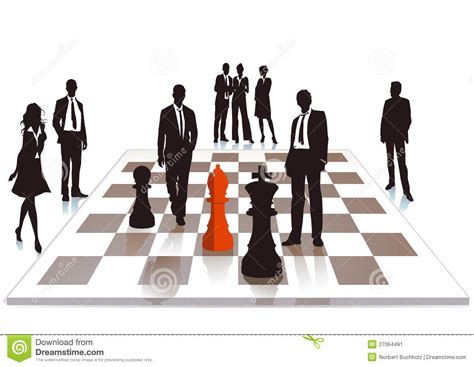 Siuc Mba Internship by Business Chess Stock Image Image 27064491