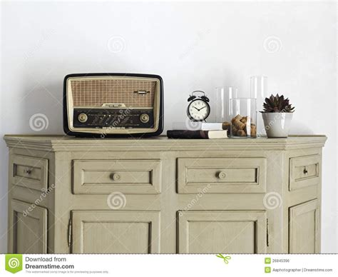 living room radio radio on the sideboard in the living room royalty free stock image image 26845396