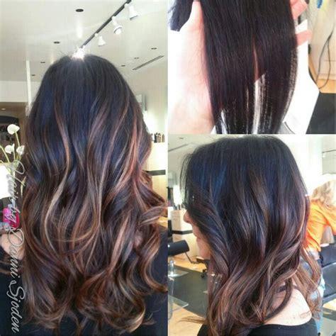 full highlight vs short highlight pics full highlights on dark hair short hairstyle 2013