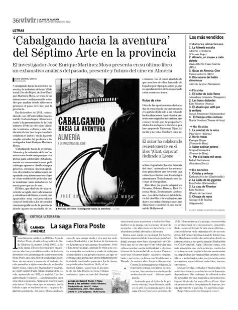 CABALGANDO HACIA LA AVENTURA - La Voz de Almería   Ficción