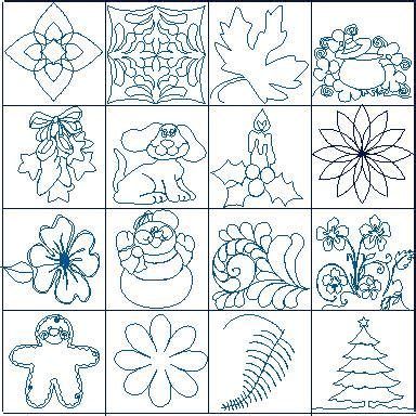 Continuous Line Quilting by Finish With Free Motion Quilting Or Continuous Line