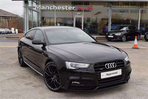 audi s line black edition used 2016 audi a5 tdi quattro s line black edition plus