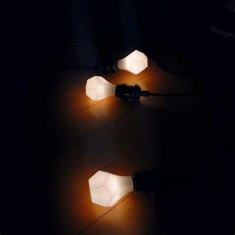nanoleaf bloom and gem led lightbulbs design milk