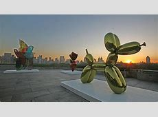 Jeff Koons on the Roof at the Met - The New York Times Jeff Koons Balloon Sculpture