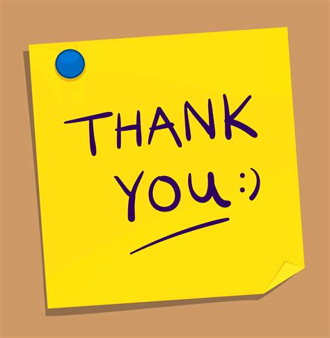 Thank You Note For It thank you sticky note wallpaper punjabigraphics