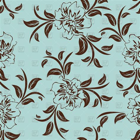 seamless floral pattern background vector graphic seamless simple floral wallpaper pattern vector image
