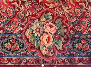Imitation Oriental Rugs Linoleum Patterns A Gallery On Flickr