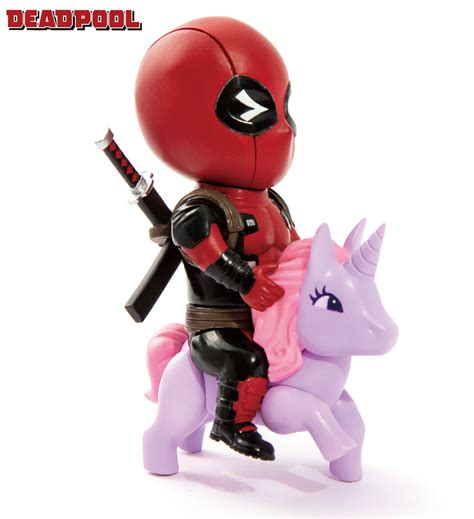 Fig 2184 Vi Egg Attack mar188667 marvel comics mea 004 deadpool pony px fig previews world