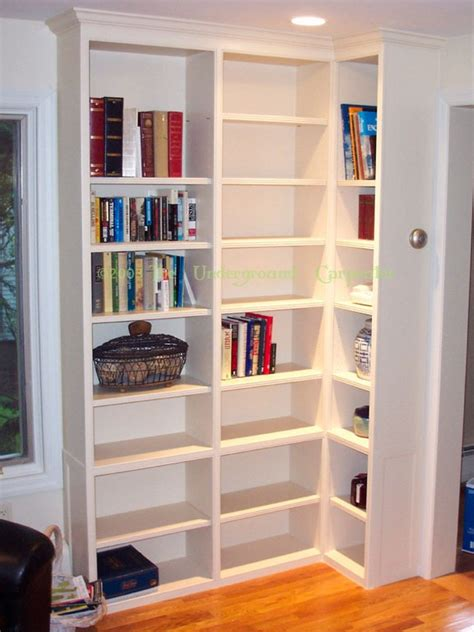 Built In Corner Bookcase Corner Built Ins The Underground Carpenter Antonio Quot Quot Thibeault