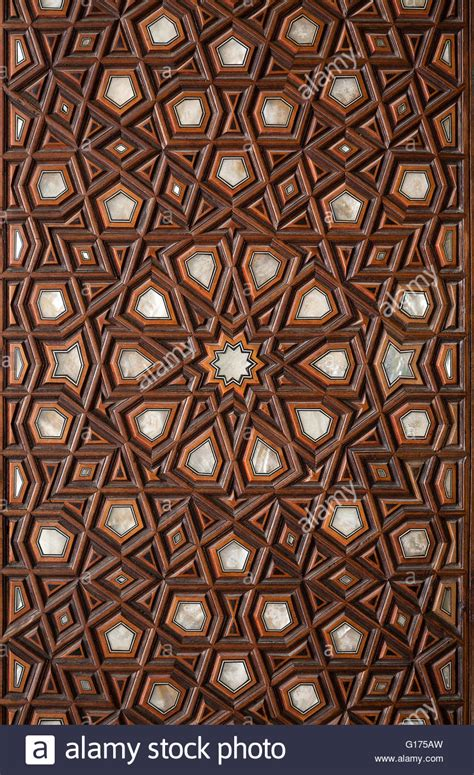 islamic patterns on a mosque stock photos freeimages com islamic pattern wooden engraving stock photo royalty free