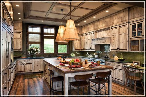 rustic cabinets kitchen building strong and safe cabinets with right rustic