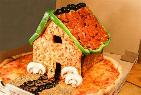 house pizzeria move over gingerbread house the pizza house is in town