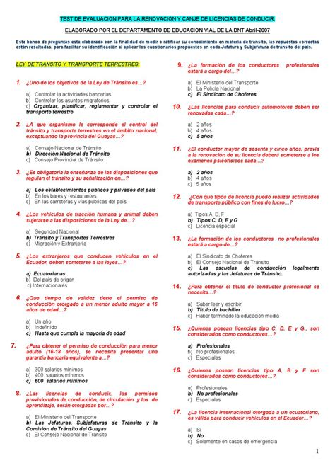 preguntas de ant para sacar la licencia preguntas para sacar la licencia en ecuador by f g issuu