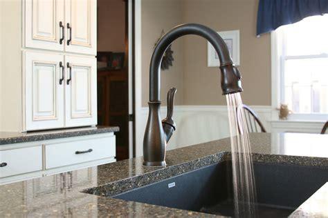 glamorous undermount sink  kitchen contemporary