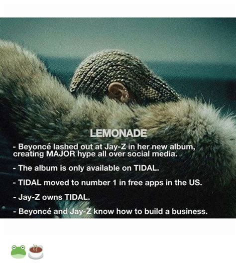Beyonce New Album Meme - lemonade beyonc 233 lashed out at jay z in her new album