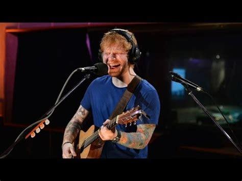 ed sheeran zane lowe ed sheeran sing live at maida vale for zane lowe youtube