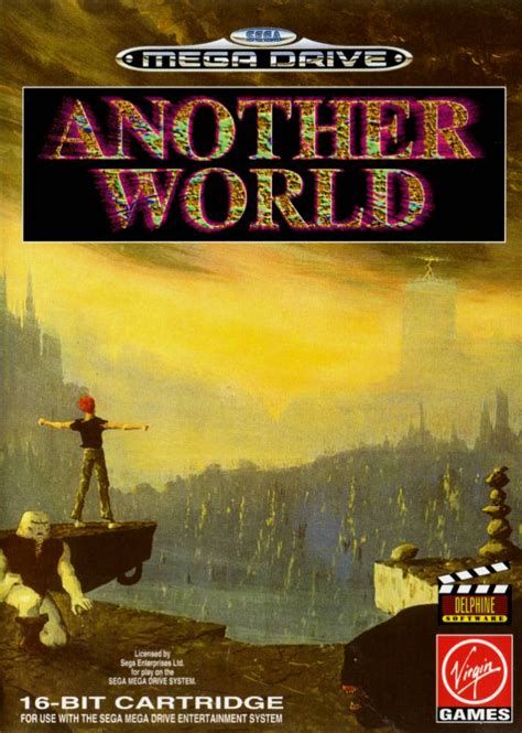 another world cover by ygproject play another world sega genesis