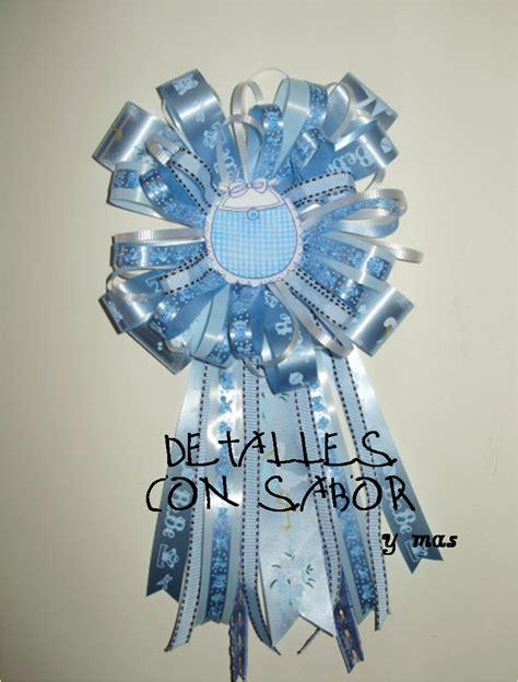 Corsage Para Baby Shower by Detalles Con Sabor Y Corsage