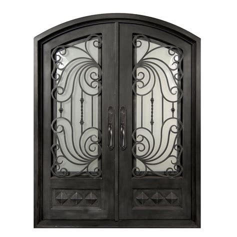 home depot wrought iron paint iron doors unlimited 62 in x 82 in mara marea classic 3