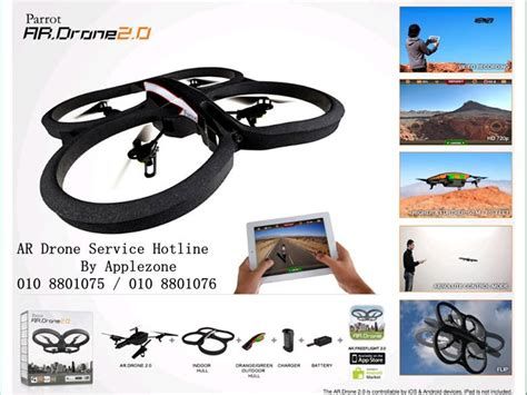 Parrot Ar Drone 2 0 Malaysia Parrot Ar Drone 2 0 Quadricopter Wifi By Iphone And Andr Johor End Time 9 29