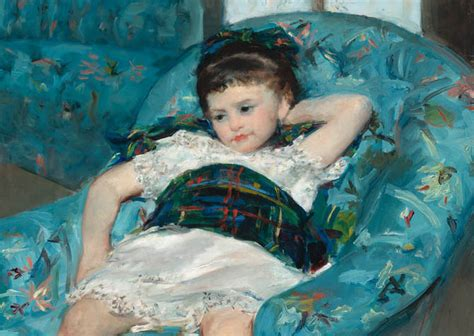 mary cassatt little girl in a blue armchair little girl in a blue armchair 1878 the ark of grace