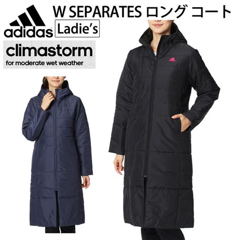 ladies bench coats apworld rakuten global market ladies long coat bench coat jacket outerwear adidas