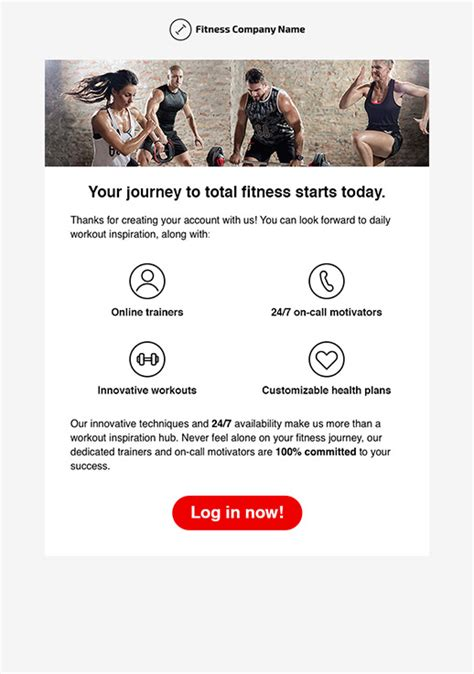Sports And Recreation Newsletter Templates Email Marketing Gr Fitness Newsletter Templates